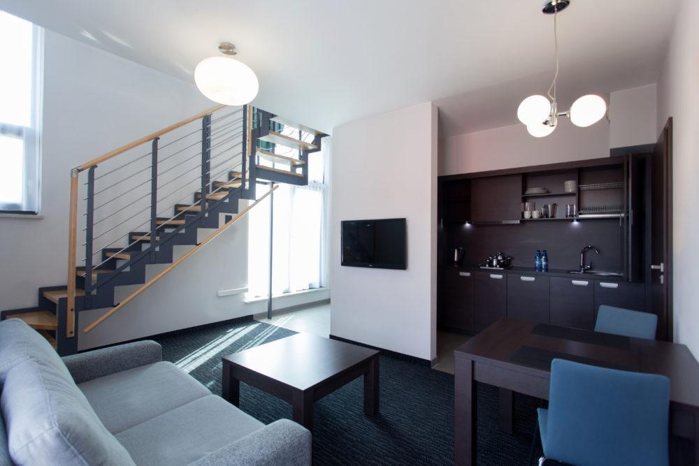 Pokój Suite Golden Tulip Gdańsk Residence